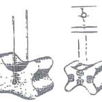 Armeringsstoler 3 med
